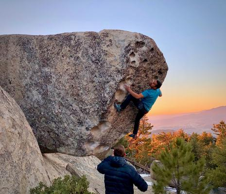 Trailside Boulders at Black